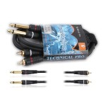 RCA to RCA Speaker Cables 25Ft 16 Gauge