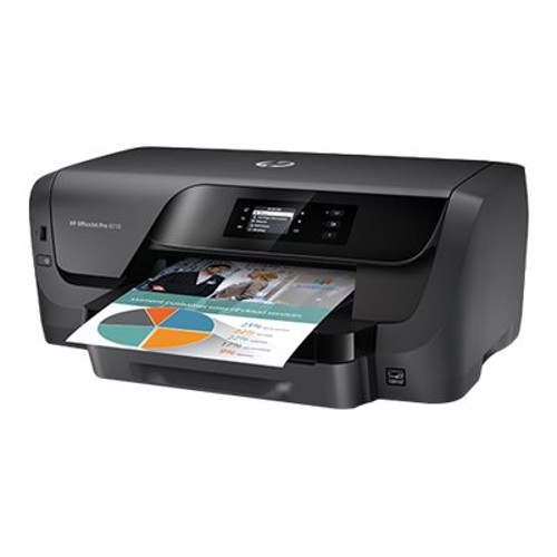 Officejet Pro 8210 - Printer - color - Duplex - ink-jet - A4/Legal - 1200 x 1200 dpi - up to 34 ppm (mono) / up to 34 ppm (color) - capacity: 250 sheets - USB 2.0, LAN, Wi-Fi(n)