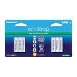 eneloop BK-4MCCA12BA - Battery 12 x AAA type NiMH ( rechargeable ) 800 mAh