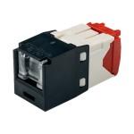 MINI-COM TX-5e UTP Jack Module - Modular insert - RJ-45 - black