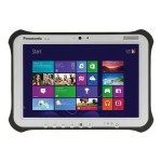 "Panasonic Toughpad FZ-G1 - Tablet - no keyboard - Core i5 5300U / 2.3 GHz - Win 7 Pro (includes Win 10 Pro License) - 8 GB RAM - 256 GB SSD TCG Opal Encryption - 10.1"" IPS touchscreen 1920 x 1200 - Wi-Fi - rugged - with Toughbook Preferred FZ-G1J3161KM"