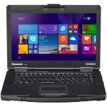 "Toughbook 54 Prime - Core i5 6300U / 2.4 GHz - Win 7 Pro (includes Win 10 Pro License) - 4 GB RAM - 500 GB HDD - 14"" IPS 1920 x 1080 (Full HD) - HD Graphics 520 - Wi-Fi - with Toughbook Preferred"