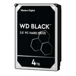 "WD WD Black Performance Desktop Hard Drive WD4004FZWX - Hard drive - 4 TB - internal - 3.5"" - SATA 6Gb/s - 7200 rpm - buffer: 128 MB WD4004FZWX"