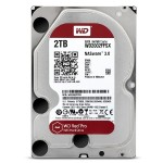 "WD Red Pro NAS Hard Drive WD2002FFSX - Hard drive - 2 TB - internal - 3.5"" - SATA 6Gb/s - 7200 rpm - buffer: 64 MB"