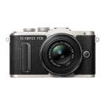 E-PL8 - Digital camera - mirrorless - 16.1 MP - Four Thirds - 1080p / 30 fps - 3x optical zoom M.Zuiko Digital 14-42mm II R lens - Wi-Fi - black