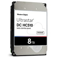 "Hitachi GST Ultrastar He10 HUH721008ALE600 - Hard drive - 8 TB - internal - 3.5"" - SATA 6Gb/s - 7200 rpm - buffer: 256 MB 0F27610"
