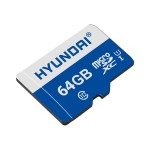 Flash memory card ( microSDXC to SD adapter included ) - 64 GB - UHS-I / Class10 - microSDXC UHS-I