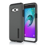 Incipio DualPro Hard Shell Case with Impact-Absorbing Core for Samsung Galaxy J3 (2016) - Gray/Black SA-760-GRBLK