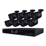 Night Owl B-10LHDA-881-720 - DVR + camera(s) - wired - LAN 10/100 - 8 channels - 1 x 1 TB - 8 camera(s)