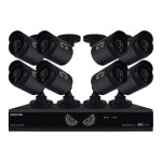 Night Owl B-10LHDA-1681-720 - DVR + camera(s) - 16 channels - 1 x 1 TB - 8 camera(s)