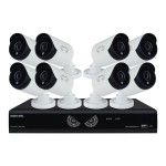 Night Owl Security Products Night Owl B-10LHDA-1681-1080 - DVR + camera(s) - 16 channels - 1 x 1 TB - 8 camera(s) B-10LHDA-1681-1080
