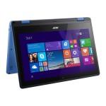 "Aspire R 11 R3-131T-C8B3 - Flip design - Celeron N3060 / 1.6 GHz - Win 10 Home 64-bit - 4 GB RAM - 64 GB eMMC - 11.6"" touchscreen 1366 x 768 (HD) - HD Graphics 400 - Wi-Fi - black, blue"