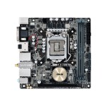 ASUS H170I-PRO/CSM - Motherboard - mini ITX - LGA1151 Socket - H170 - USB 3.0 - Bluetooth, 2 x Gigabit LAN, Wi-Fi - onboard graphics (CPU required) - HD Audio (8-channel) H170I-PRO/CSM