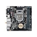 H170I-PRO/CSM - Motherboard - mini ITX - LGA1151 Socket - H170 - USB 3.0 - Bluetooth, 2 x Gigabit LAN, Wi-Fi - onboard graphics (CPU required) - HD Audio (8-channel)