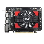 R7250-2GD5 - Graphics card - Radeon R7 250 - 2 GB GDDR5 - PCIe 3.0 - DVI, HDMI, DisplayPort