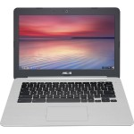 "C301SA-DB04 Intel Celeron N3160 Quad-Core 1.60GHz Chromebook - 4GB RAM, 64GB SSD, 13.3"" Full HD, 802.11ac, Bluetooth, Webcam, 3-cell 48Whrs Li-Ion, Gray"
