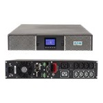 9PX 9PX3000GRT - UPS (rack-mountable / external) - AC 200/208/220/230/240 V - 3000 Watt - 3000 VA - RS-232, USB - output connectors: 10 - 2U - black and silver