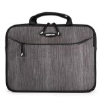 "SlipSuit - Notebook sleeve - 16"" - carbon with black accents"