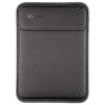 "Flaptop Sleeve MacBook 12"" - Black/Slate Grey/Black"