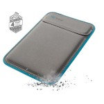 "Flaptop Sleeve MacBook Pro with Retina Display 15"" Cases - Graphite Grey/Electric Blue/Graphite Grey"