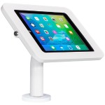 "The Joy Factory Elevate II Kiosk KAA203W - Mounting kit ( mount, anti-theft enclosure ) for tablet - lockable - white - screen size: 9.7"" - wall-mountable, counter top KAA203W"