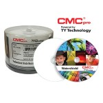 CMC Pro, 48X, CD-R, PrintPlus White Matte Inkjet (Hub Printable), 100 Disc Cakebox