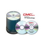 CMC Pro, 48X, CD-R, Shiny Silver Lacquer, 100 Disc Cakebox