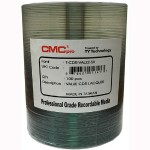 CMC Pro Taiyo Yuden 52X CD-R Valueline Silver Lacquer Media - 100 Pack