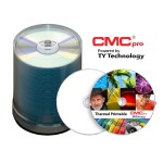 CMC Pro, 48X, CD-R, White Thermal Printable (Prism Only), 100 Disc Spindle