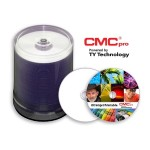 CMC Pro, 4.7GB, Silver Inkjet, 100 Disc Cakebox