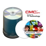 CMC Pro, 48X, CD-R, White EVEREST Thermal (Hub Printable), 100-Disc Tape Wrap