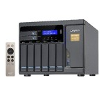 QNAP 8 Bay Thunderbolt 2 Das/NAS/iSCSI Ip-San Solution, Intel Core i5 3.6GHz Quad Core TVS-882T-i5-16G-US