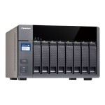TS-831X - NAS server - 8 bays - SATA 6Gb/s - RAID 0, 1, 5, 6, 10, JBOD - Gigabit Ethernet / 10 Gigabit Ethernet - iSCSI