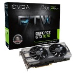 GeForce GTX 1070 FTW Gaming ACX 3.0 - Graphics card - GF GTX 1070 - 8 GB GDDR5 - PCIe 3.0 x16 - DVI, HDMI, 3 x DisplayPort