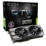 GeForce GTX 1070 FTW DT Gaming ACX 3.0 - Graphics card - GF GTX 1070 - 8 GB GDDR5 - PCIe 3.0 x16 - DVI, HDMI, 3 x DisplayPort