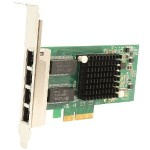 Syba Multimedia 4 Port Gigabit Ethernet PCI-e x4 Network Interface Card SY-PEX24045