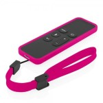 NGP Flexible Impact-Resistant Case for Apple TV Remote - Pink