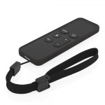 NGP Flexible Impact-Resistant Case for Apple TV Remote - Black