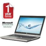 "EliteBook 8570p Intel Core i7-3740QM Quad-Core 2.70GHz Notebook PC - 8GB RAM, 256GB SSD, 15.6"" LED-backlit HD+, DVD+/-RW SuperMulti, Gigabit Ethernet, 802.11a/b/g/n, Webcam - Refurbished"