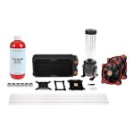 Pacific RL240 D5 Hard Tube Water Cooling Kit - Liquid cooling system kit - (LGA775 Socket, LGA1156 Socket, Socket AM2, Socket AM2+, LGA1366 Socket, Socket AM3, LGA1155 Socket, Socket AM3+, LGA2011 Socket, Socket FM1, Socket FM2, LGA1150 Socket, LGA1151 So