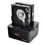 "BlacX Duet - HDD docking station - bays: 2 - 2.5"", 3.5"" - SATA 6Gb/s - 600 MBps - USB 3.0"