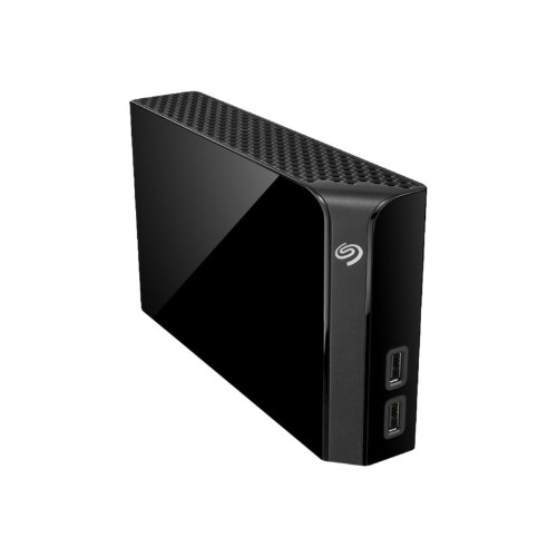 Backup Plus Hub STEL8000100 - Hard drive - 8 TB - external (desktop) - USB 3.0 - black
