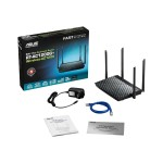RT-AC1200 - Wireless router - 4-port switch - 802.11a/b/g/n/ac - Dual Band