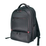 "Professional Backpack - Notebook carrying backpack - 17"" - black, red"