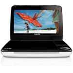 PHILIPS 9 PORTABLE DVD PLAYER WHITE RB