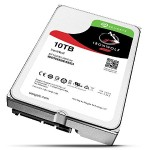 "10TB Ironwolf NAS SATA 6GB/s NCQ 64MB Cache 3.5"" Internal Bare Drive"