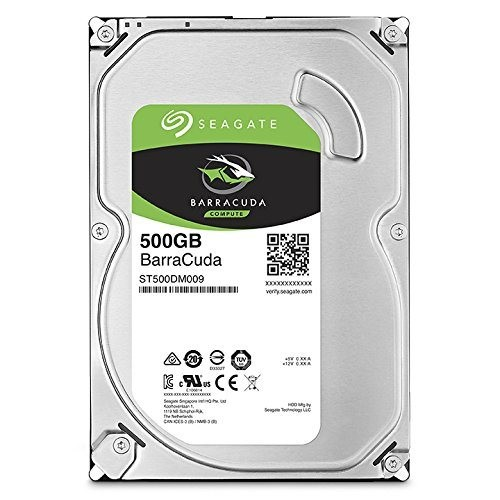 Barracuda ST500DM009 Hard drive 500 GB internal 3.5 SATA 6Gb s 7200 rpm buffer 32 MB