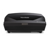 ViewSonic LS830 - DLP projector - 4500 lumens - Full HD (1920 x 1080) - ultra short-throw fixed lens LS830