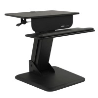 TrippLite Sit Stand Desktop Workstation Height Adjustable Standing Desk WWSSDT