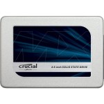 "MX300 - Solid state drive - encrypted - 525 GB - internal - 2.5"" - SATA 6Gb/s - 256-bit AES - TCG Opal Encryption 2.0"